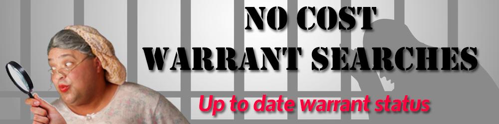 No Cost Warrant Check